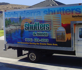 High Sierra Shutters And Blinds Reno Nevada